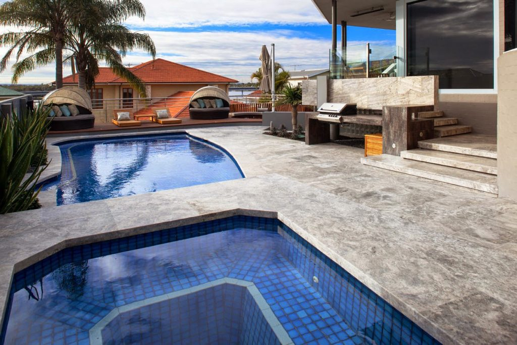 Outdoor Pavers Brisbane : How to seal travertine floor tiles and outdoor pavers