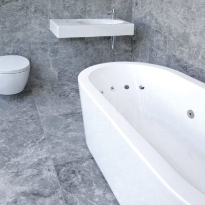 silver filled and honed travertine floor tiles bathroom and wall tiles