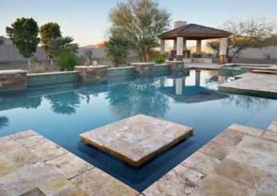 Antique-travertine-pool-tiles-and-coping-510x337