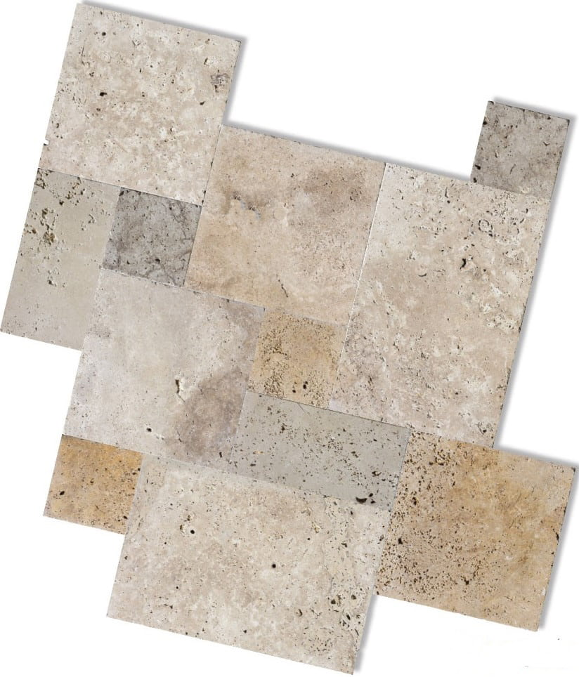 Classic Travertine French Pattern Tiles Amp Pavers We