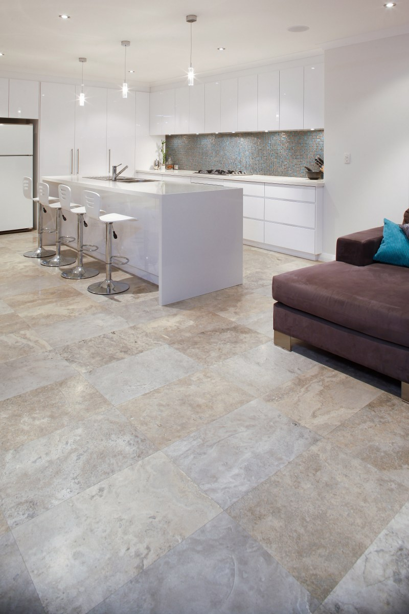 silver travertine french pattern available in both tiles pavers we deliver travertine. Black Bedroom Furniture Sets. Home Design Ideas