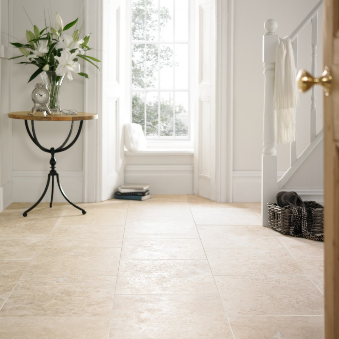 IVORY TRAVERTINE TILES HONED & FILLED WALL AND FLOOR TILES - WE ...