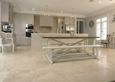Honed and filled Classic travertine