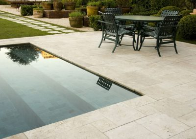 Ivory outdoor pool tiles