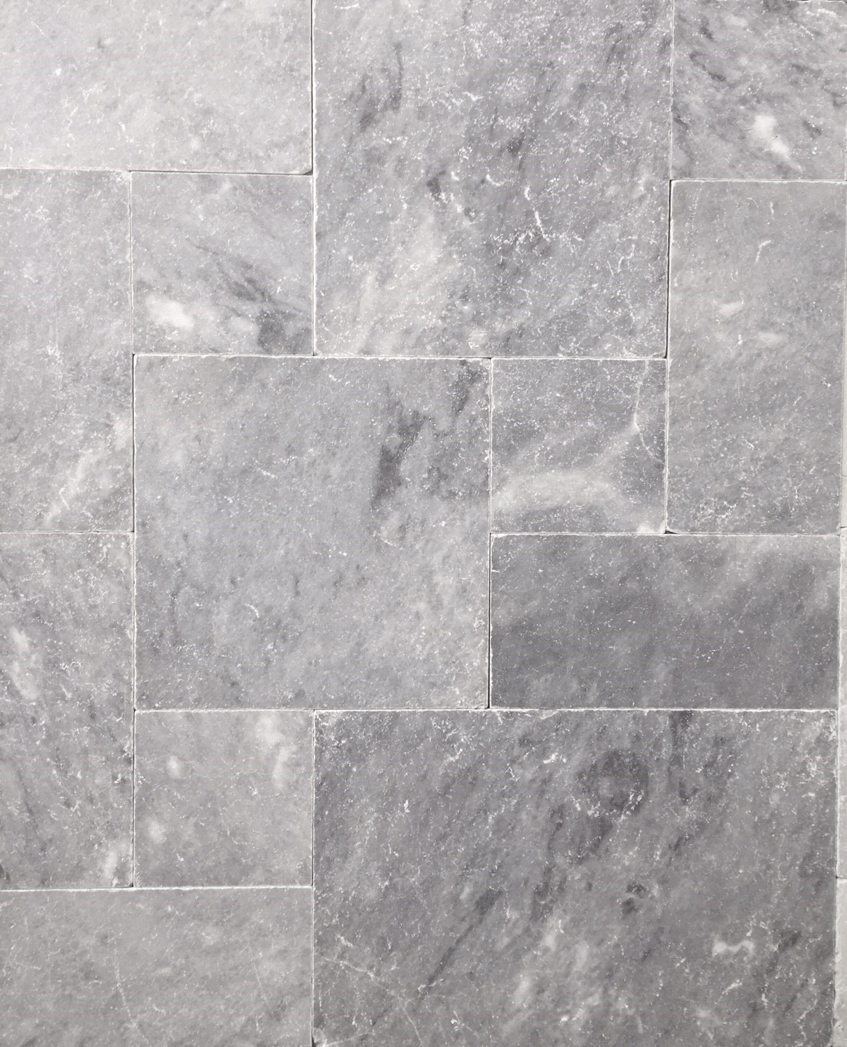 BRAND NEW PRODUCT PREMIUM PEARL GREY LIMESTONE FRENCH PATTERN TUMBLED UNFILLED