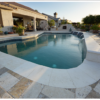 noce enhanced travertine unfilled and tumbled outdoor area pool pavers and coping