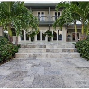 Silver-Travertine-Outdoor-Tiles-Non-Slip-French-Pattern-300x300