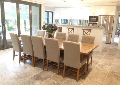 Travertine Tiles Silver Tumbled