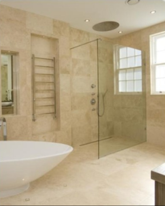 Ivory Travertine Tiles Honed Amp Filled Wall And Floor Tiles