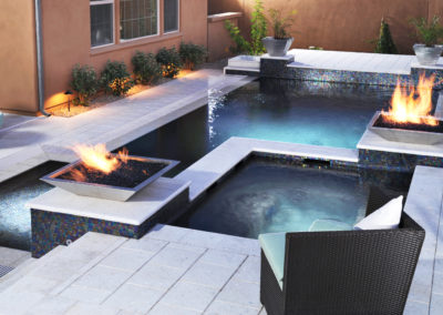 White Limestone Pool Coping Tiles and non slip Pavers FOR SLIDER
