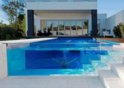 Capri White Limestone Pool Tiles and Pavers