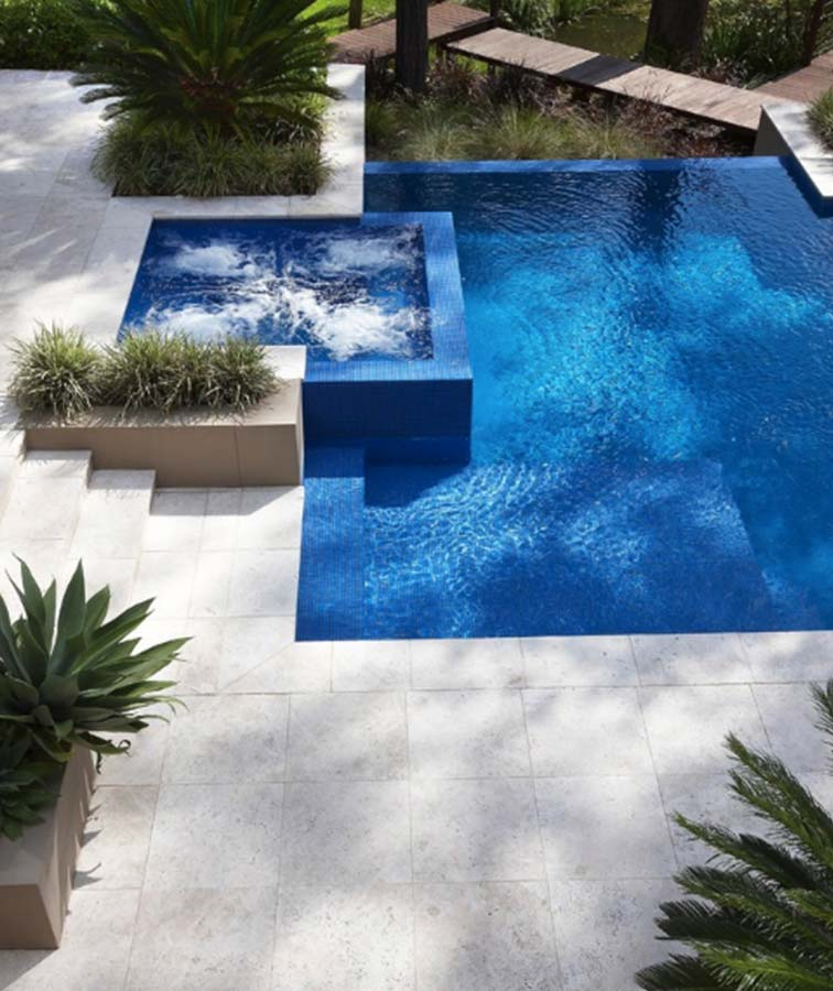 drop face pool coping pool tiles and pavers