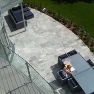 grey travertine Tiles