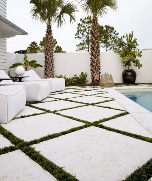 melbourne travertine tiles stone pavers pool tiling