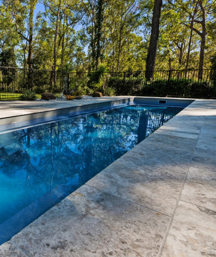 Travertine Pavers & Pool Coping Tiles