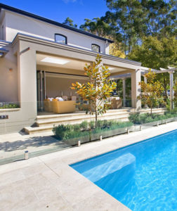 pool tiles and pavers in Melbourne travertine