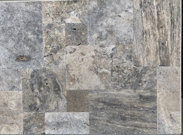 Cheap Silver Travertine Tiles