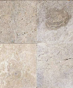 Oyster silver travertine tiles and pavers