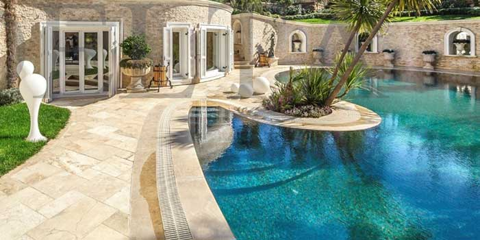 Travertine pool coping melbourne and sydney