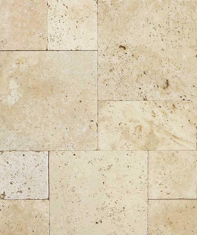 French Pattern Tiles Stone Pavers Travertine Melbourne