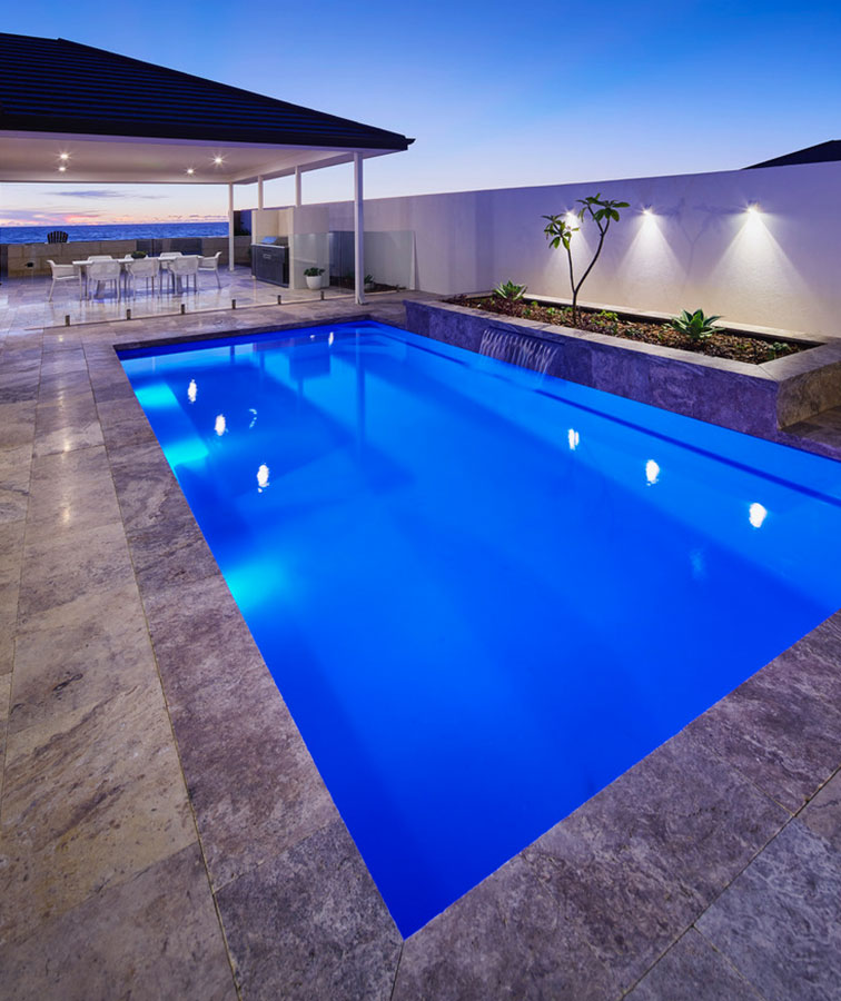 pool coping pavers concrete paving grey tiles