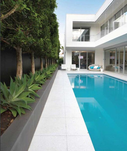 Cheap white tiles pool pavers
