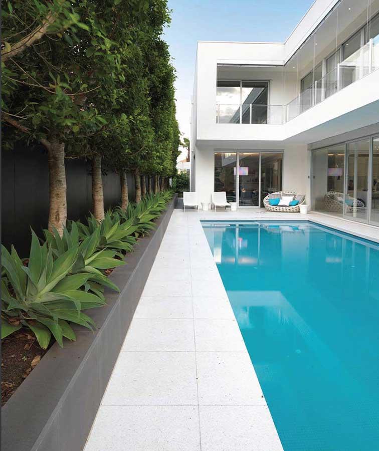 Cheap white tiles pool pavers