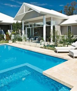 Travertine pavers pool coping rebate brisbane