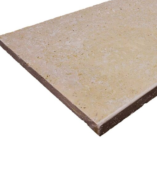 Travertine pool coping pavers sqaure edge