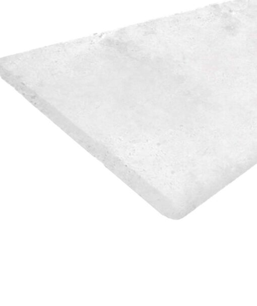Capri White Pavers Bullnose pool tiles coping