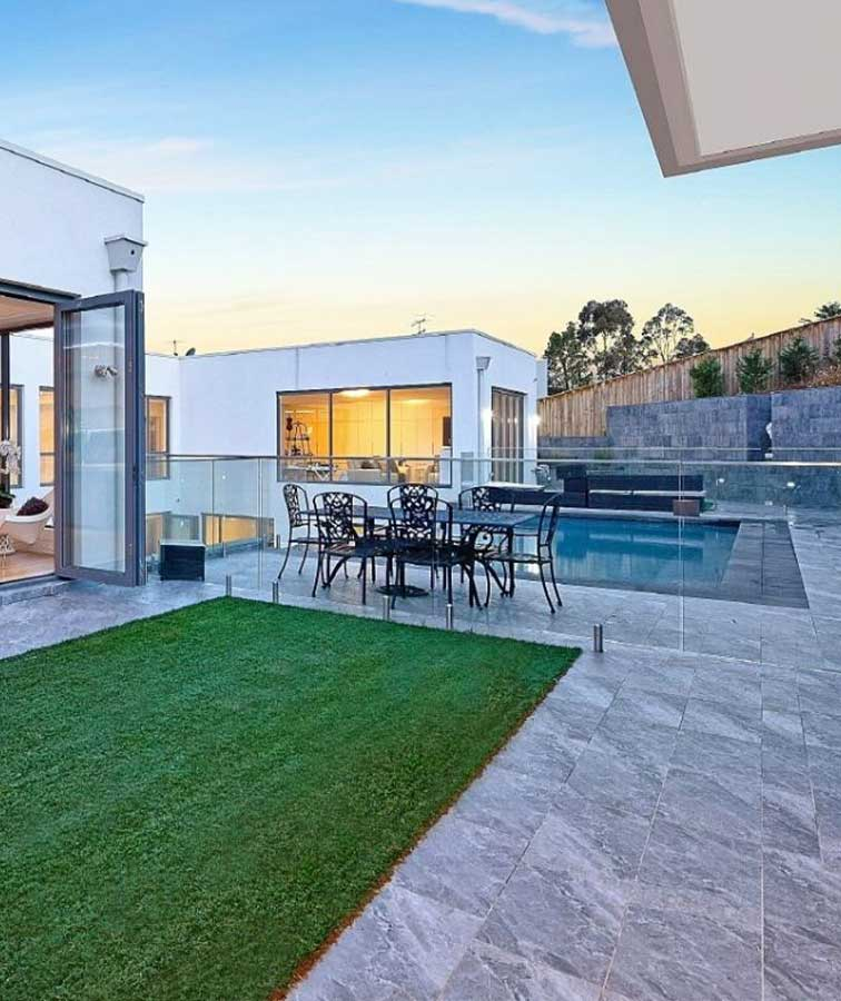 marble grey tiles outdoor pavers melbourne