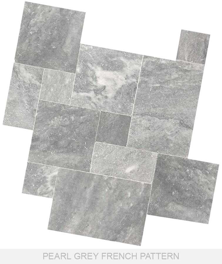 Grey tiles limestone pavers gray paving marble