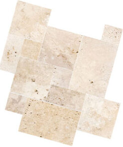 Travertine tiles cheap pavers french pattern tiling