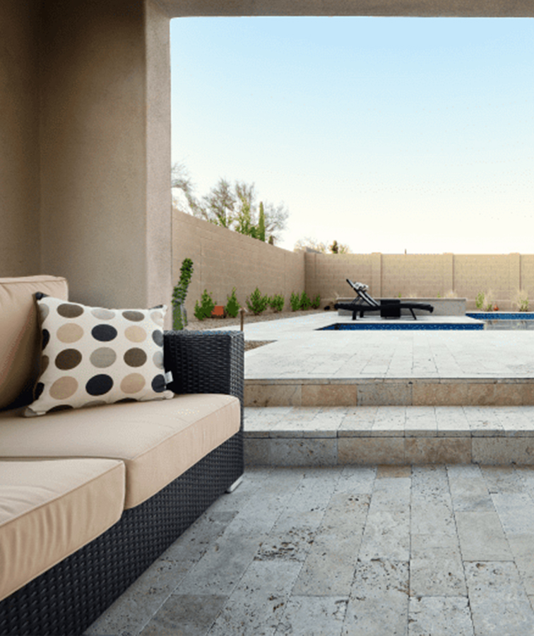 Classic Travertine tiles and pavers melbourne