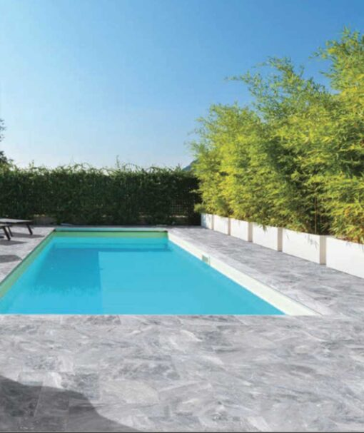 Pool tiles grey pavers Melbourne
