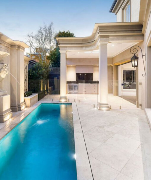 white pavers melbourne tiles pool paving