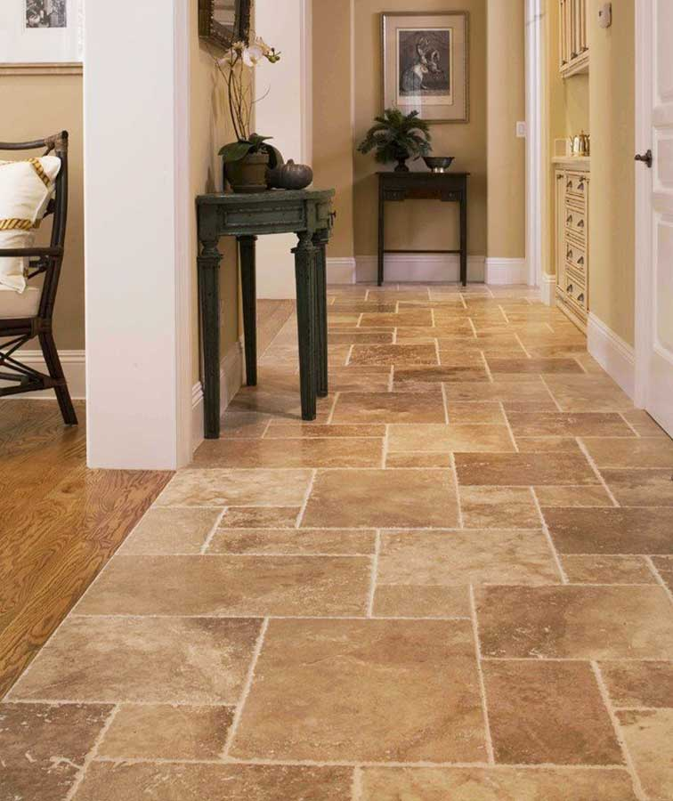 Stone tiles indoor travertine pavers